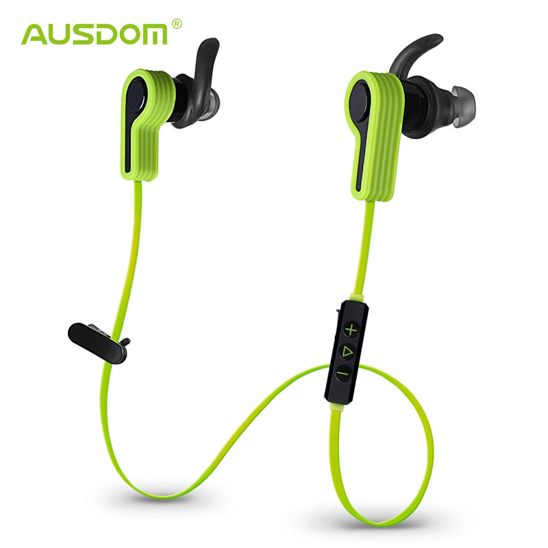 AUSDOM S940 Bluetooth Headset Wireless 4.1 Handsfree In-ear Earphone with Hign Quality and Lower Power Consumption Chip