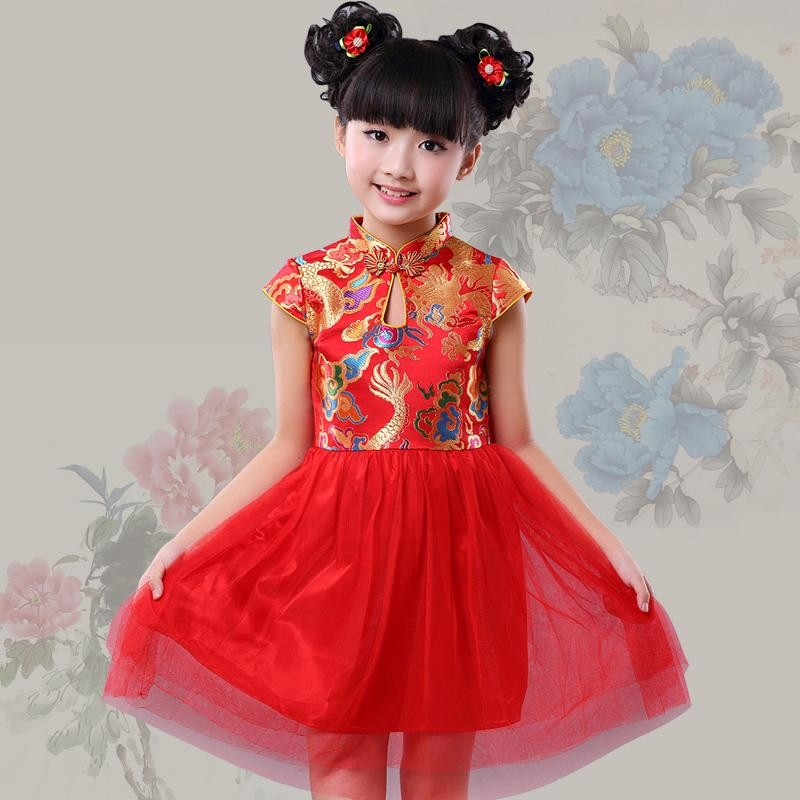 online buy wholesale traditional kids dresses from china
