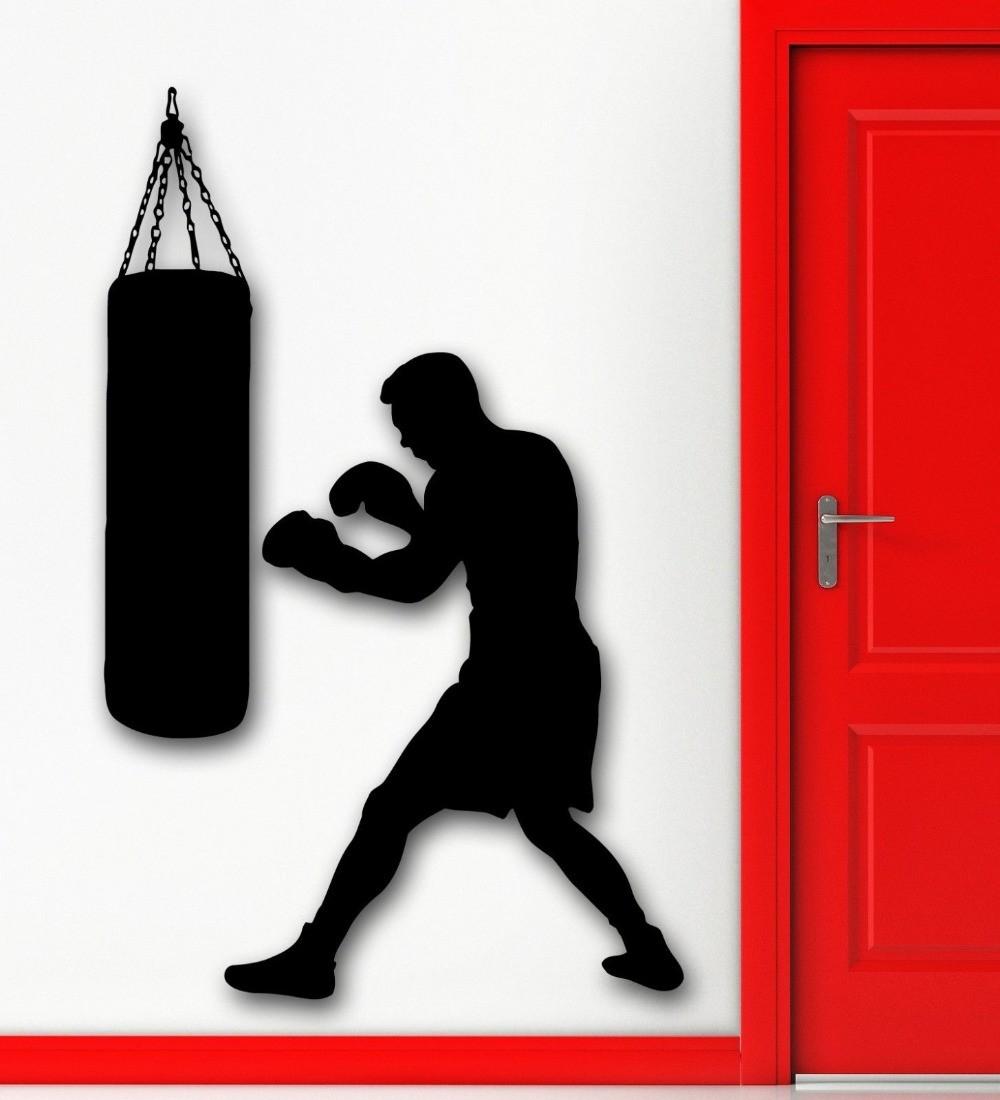 Boxing bag wallpaper