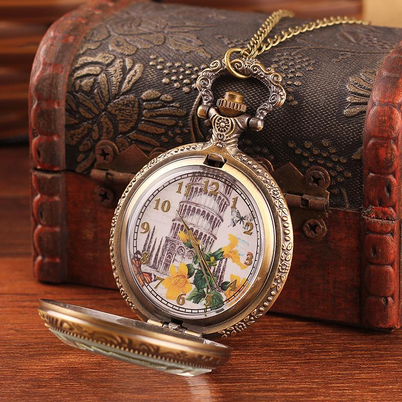 Hot retro bronze Liberty pattern pocket watch & quartz watch classic design & fashionable men and women hanging table(China (Mainland))
