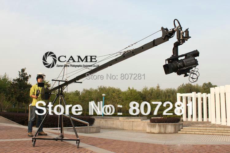 15.8ft Pan Tilt Head 5 kilo Camera Crane Jib Arm Jibs Video LCD Monitor Kit(China (Mainland))