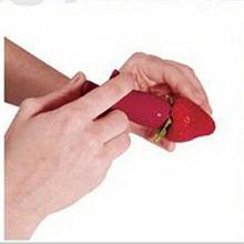 New Strawberry Tomatoes Stem Huller Remover Fruit Vegetable Creative Kitchen Accessories DIY Tools