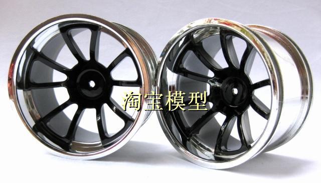 DWN 1/10 monster truck tire rim wheel box Universal 0013 1:10 Feet(China (Mainland))