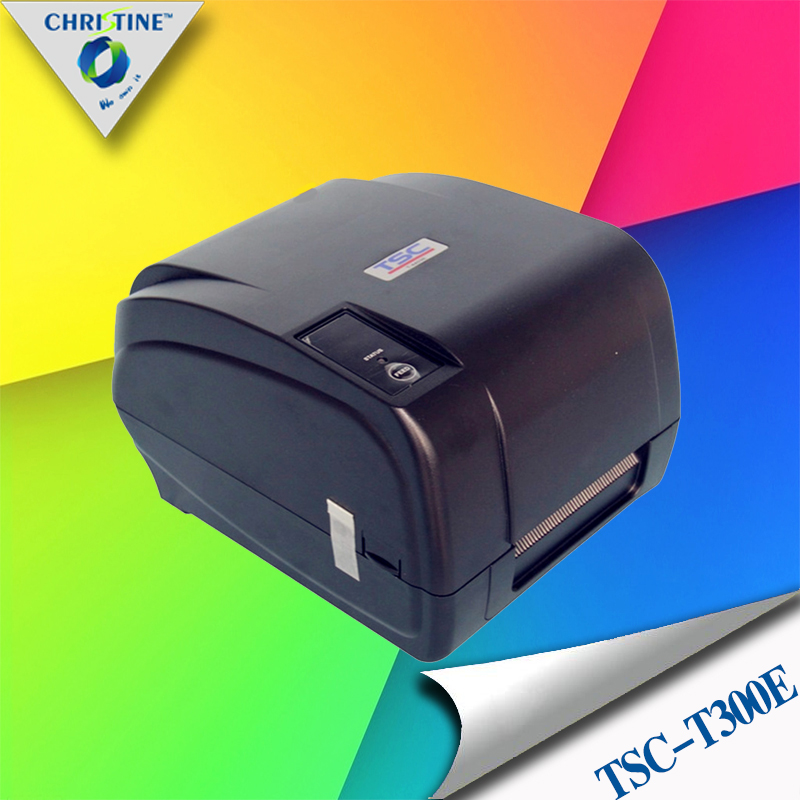 TSC T300E thermal transfer barcode label machine Support 1D &amp; 2D barcode printing clothing tag jewelry label hot sell<br><br>Aliexpress