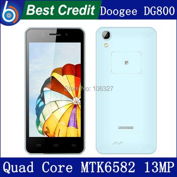 "2014 New DOOGEE VALENCIA DG800 Smart Phone MTK6582 Quad Core 1.3GHz 4.5"" IPS Screen 1GB RAM 8GB ROM Android 4.4.2 OS 13.0MP/Eva"