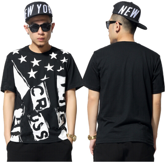 Summer Style 2015 Hip Hop Street Graffiti Printed Fashion Round Collar T Shirts Men 39 S Clothing