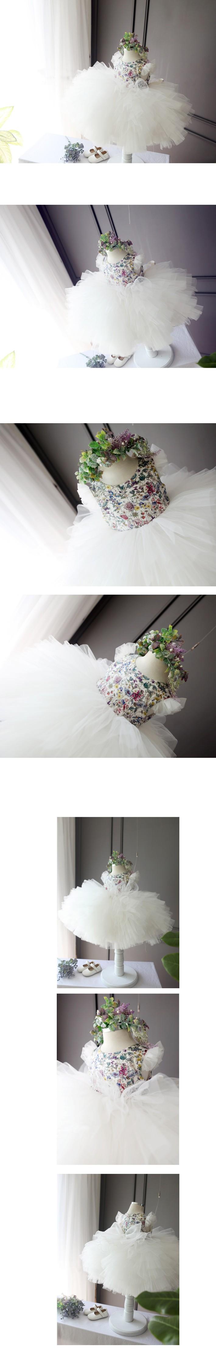 Скидки на ДЕТСКИЕ WOW Детские Платья Маленькие Девочки Платья Принцесса Бальное платье Девушки Цветка Платья для 0-2 Т Ребенка одежда 80217