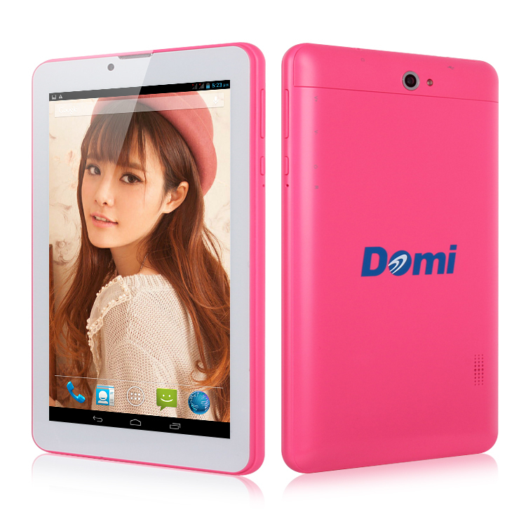 3G Tablet PC 3G phone DOMITREE X6 MTK8312 Dual Core 1.3GHz 1G/8G Android 4.2 GPS Bluettoth OTG(China (Mainland))