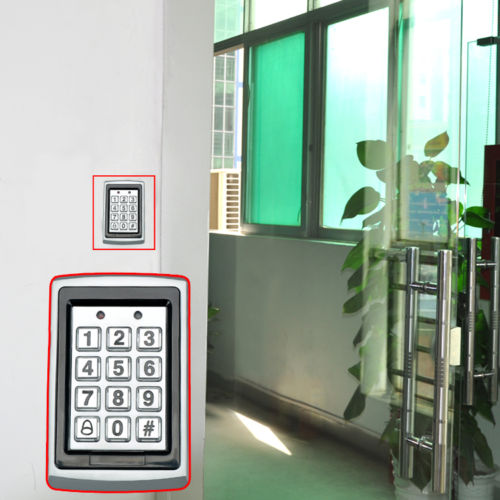 electric bolt lock electronic gate motor door security proximity entry lock keypad access. Black Bedroom Furniture Sets. Home Design Ideas
