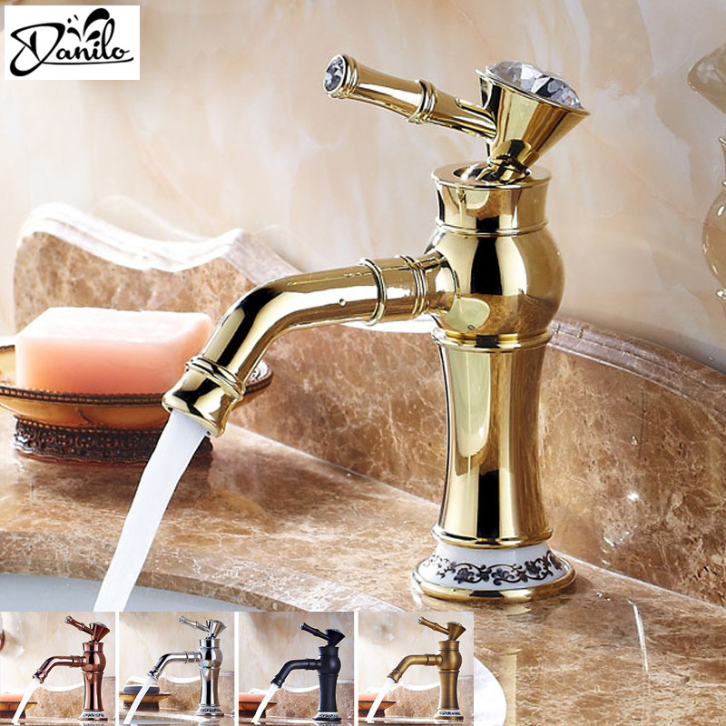Bathroom Faucets With Crystal Handles popular elegant bathroom faucets with crystal handles-buy cheap