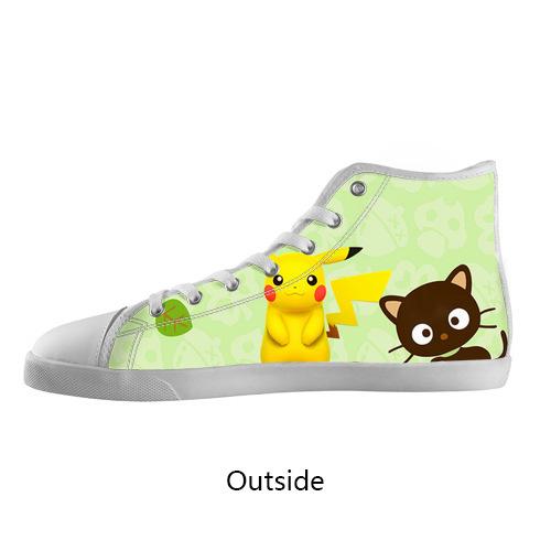 Original men Causal Shoes Pokemon Anime Lovely Pikachu High Top Canvas Shoes Model002 (Men)<br><br>Aliexpress