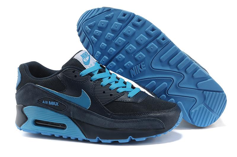 Nike Air Max 90 Homme bleu-marine