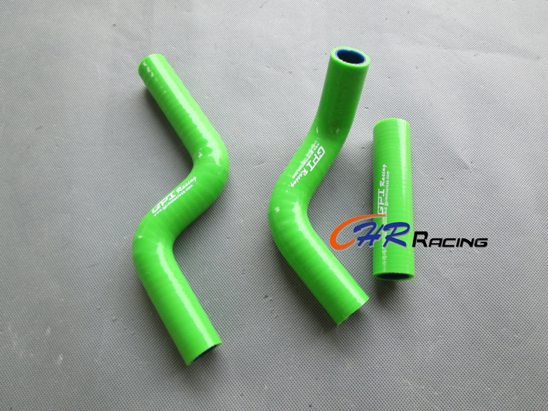 FOR KAWASAKI KX85 KX 85 KX100 KX 100 2014 2015 Silicone Radiator Hose Kit 2014-(China (Mainland))
