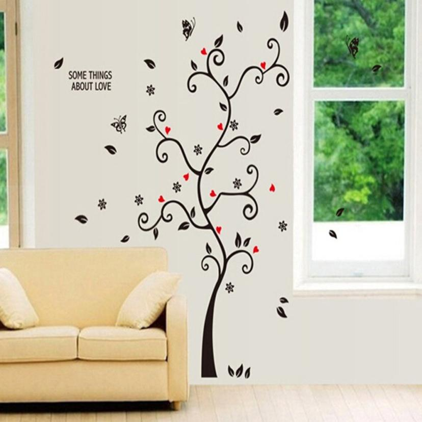 Modern Kids Frame Tree Wall Stickers Muslim Vinyl Home Stickers Wall Decals Art Home Decor For Living Room Bedroom Decoration(China (Mainland))
