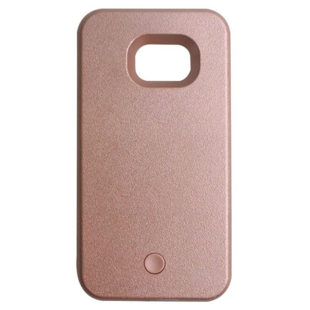 Cover for Samsung Galaxy S6 S7 S6edge S7Edge Light LED Flash Case Selfie Lights Case for iPhone 7 7plus 5 5S SE 6 6plus 6S plus