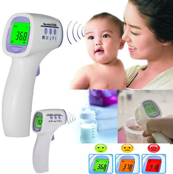 Baby/Kids/Adult Digital Multi-Function Non-contact Infrared Forehead Body Thermometer Health Monitors Termometer Termometro - DE'LANCI Official Store store