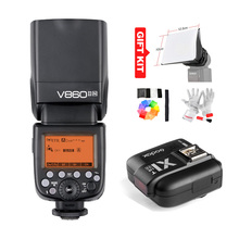 Buy Godox V860II-N HSS 1/8000s i-TTL GN60 Speedlite Flash 2.4G Wireless X System + Godox X1T-N Flash Trigger Transmitter Nikon for $199.00 in AliExpress store