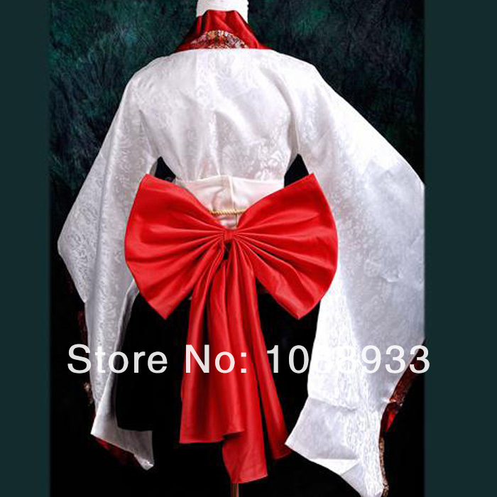 japanese kimono cosplay costumes white japanese traditional dress party lolita kimono plus size custom wholesale
