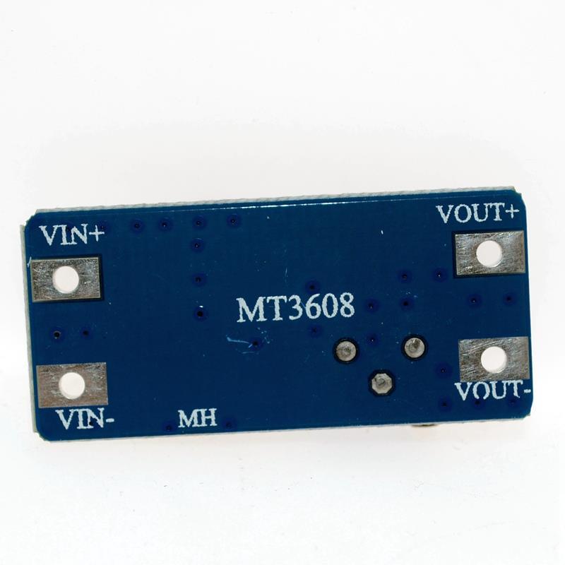 MT3608 2A Max DC-DC Step Up Power Module Booster Power Module For Arduino 3-5V to 5V/9V/12V/24V 5PCS