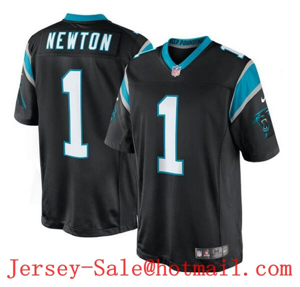 2016 Man New Carolina panthers, 59# Luke Kuechly,1# Cam Newton, black white blue 100% stitched Logo and name(China (Mainland))