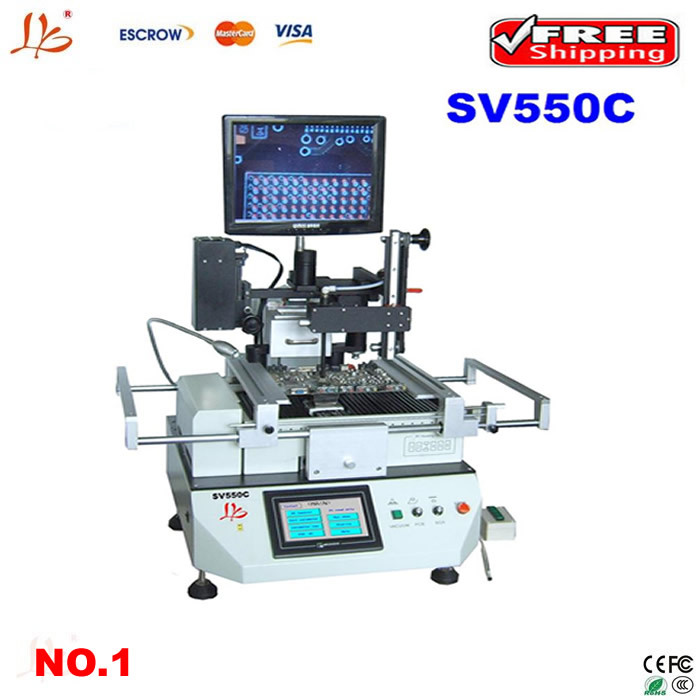 Промышленная машина LY SV550C, ccd bga SV550C ccd camera bga rework station 4500w ly 5830c lcd touch screen bga rework station soldering machine hot air 3 zones for motherboard chip repairing free tax eu