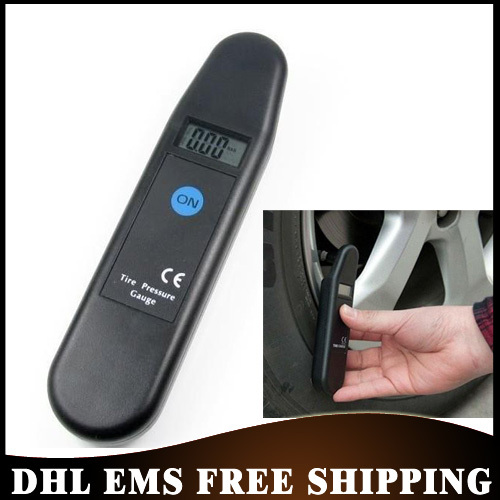 50% SHIPPING 20PCS/LOT High Accuracy Auto Wheel Air Digital Tire Gauges Car Pressure Meter Test Tyre Wholesale(China (Mainland))