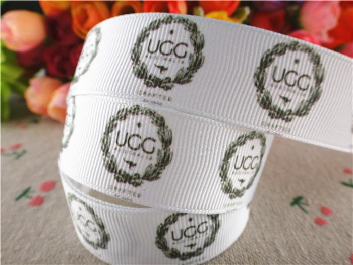 Free shipping 7/8'' (22mm) printed grosgrain ribbons sports ribbon hair accessories 10 yards WQ14100513(China (Mainland))