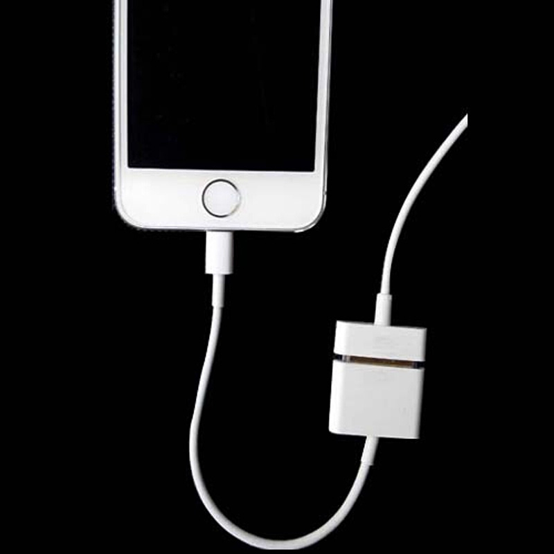 30 Pin To 8 Pin Charger Converter Adapter Cable For iPhone 5 5S 5C iPad 4 iPod Support iOS 7 iOS 8,Free Shipping(China (Mainland))