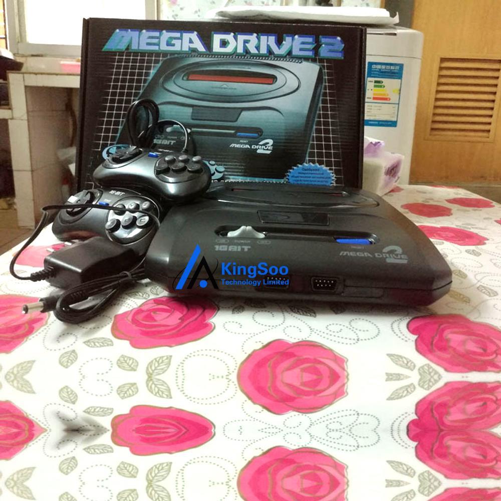 Export Russia Full screen 16bit Sega Mega Drive 2 MD2 Video TV Game Console NTSC output(China (Mainland))