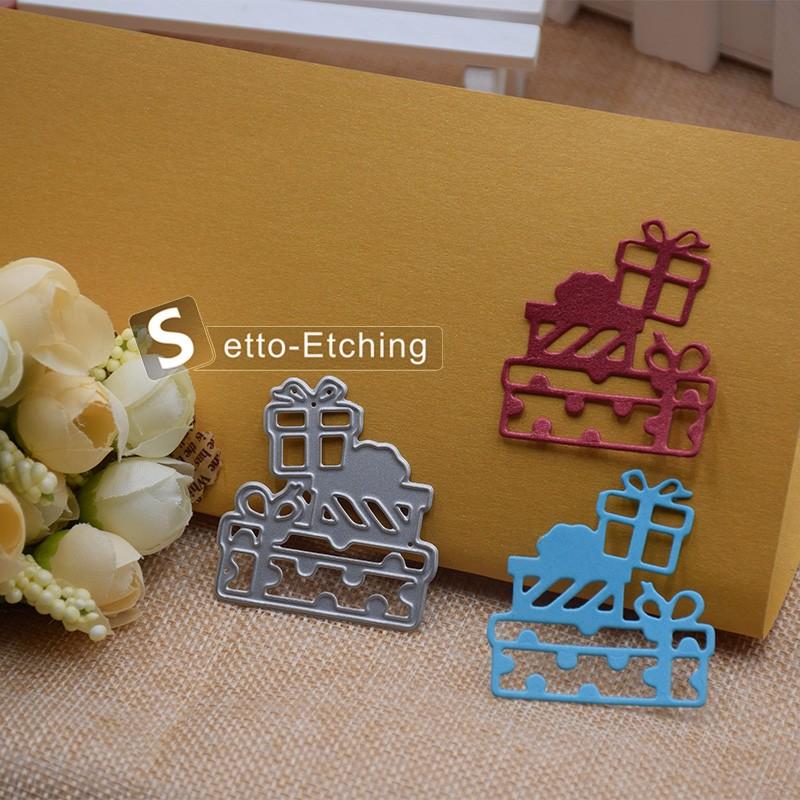 0.03″Metal Cutting Christmas Present Die Metal Scrapbooking Dies Metal Christmas Present Stencils DIY dies craft