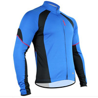 SANTIC Men's Long Sleeve Cycling Jersey Bike Bicycle Outdoor Clothes Shirts Top Size S 2XL