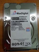 Brand New 2.5inch HDD 1000GB 5400Rpm 8M Buff SATA Internal Hard Disk Drive For Laptop Notebook MaxDigital/MD1000GB SATA 2.5inch(China (Mainland))