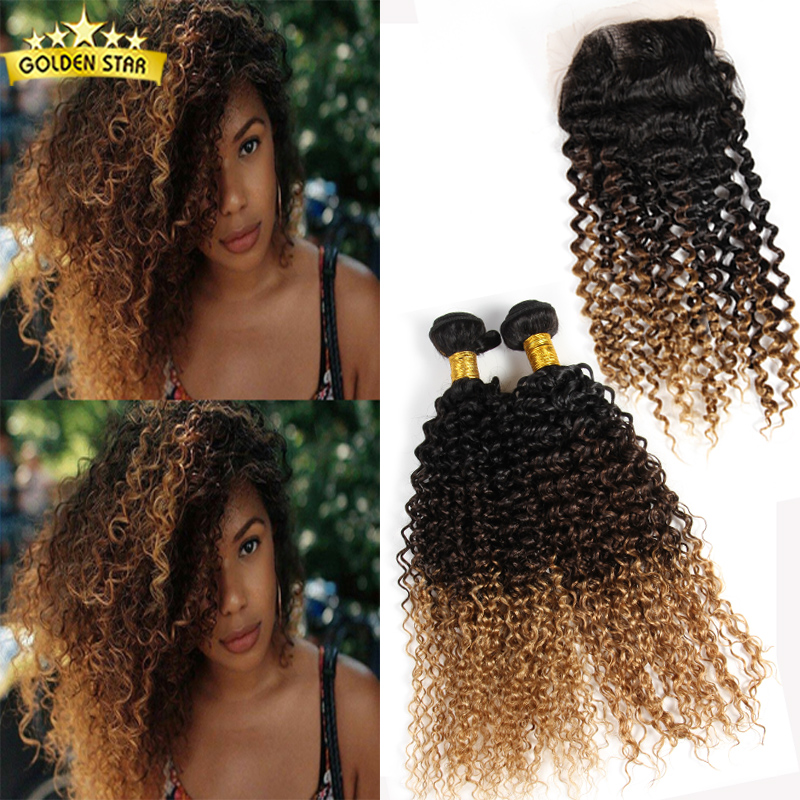 7a Malaysian Curly Hair With Closure Peerless Malaysian Kinky Curly Hair With Closure 4pcs Cheap Human Hair Lace Closure Piece