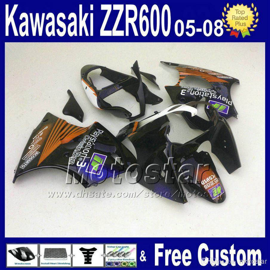 Custom Fairing Kits Custom Fairings Kit Zzr600