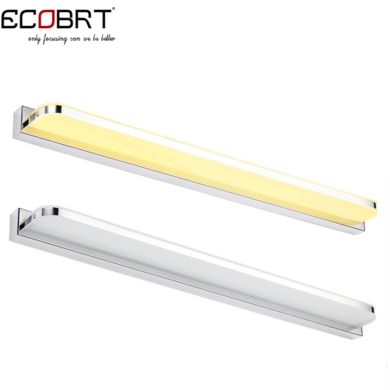 ECOBRT #5960R 15W 92cm Long LED Light Bathroom Wall Mounted Mirror Lights Fixtures with ...