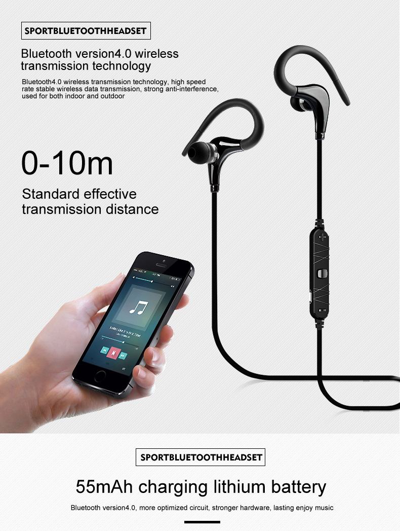 awei a890bl casque bluetooth wireless earphone earphone. Black Bedroom Furniture Sets. Home Design Ideas