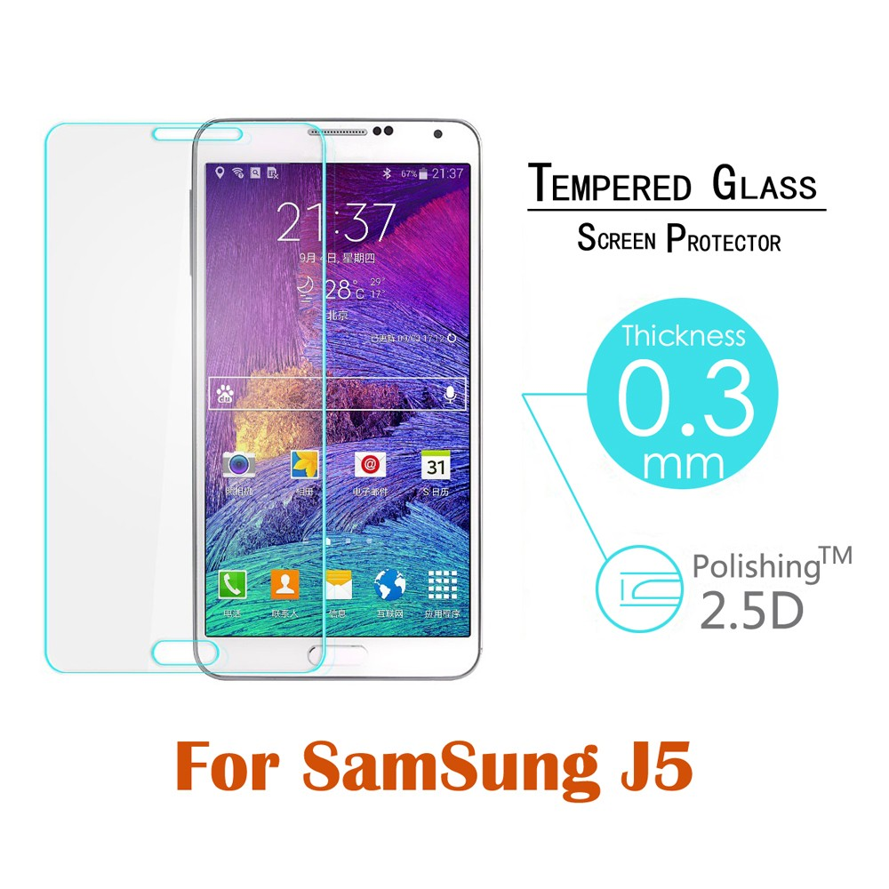 Tempered Glass For Samsung Galaxy J7 J1 J2 J3 J5 A3 A5 A7 A8 E5 E7 S3 S4 S5 S6 S7 Screen Protector Cover Note 4 Note5 Guard Film
