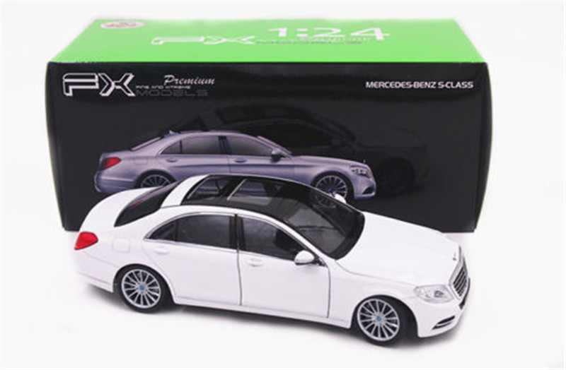 1:24 Welly Mercedes Benz S-Class S600 Diecast Model Toy Car Vehicle White New(China (Mainland))