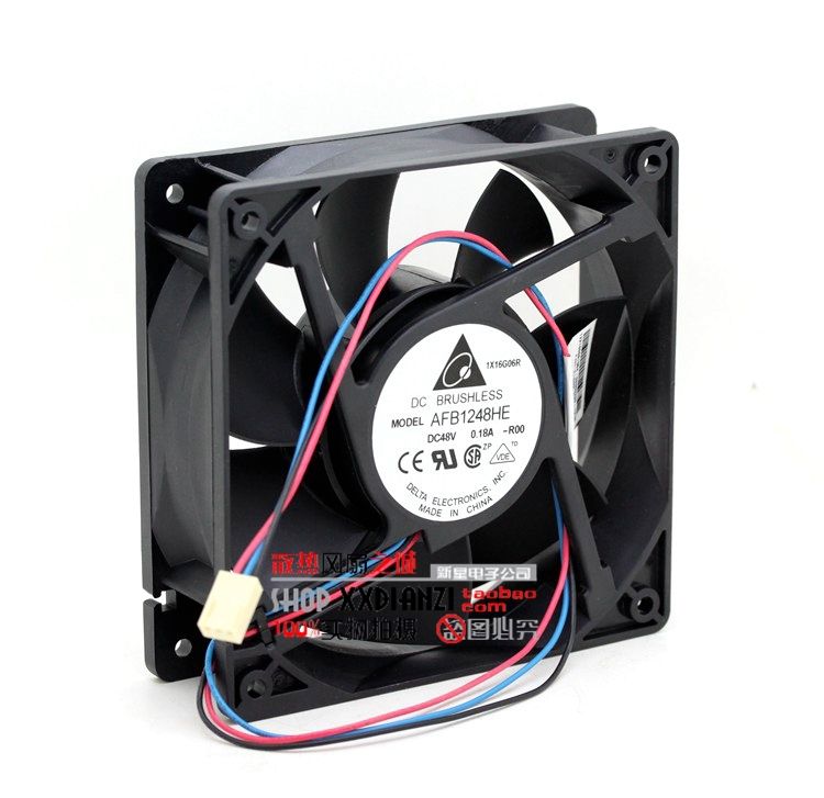 Free Shipping DELTA AFB1248HE-ROO 12038 48V 0.18A 12CM 120mm IPC inverter fan<br><br>Aliexpress