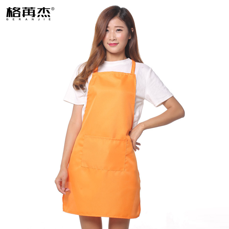 Free Shipping Unisex Restaurant Home Kitchen Cooking Craft Work Commercial Kit Apron With Pockets For Women Men Custom Aprons(China (Mainland))