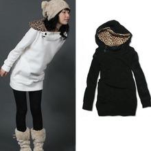 New 20156  Women Sport Suit Pullovers Hoodies Swearshirt Fleece Warm  Feminino Winter Coat Camisolas(China (Mainland))
