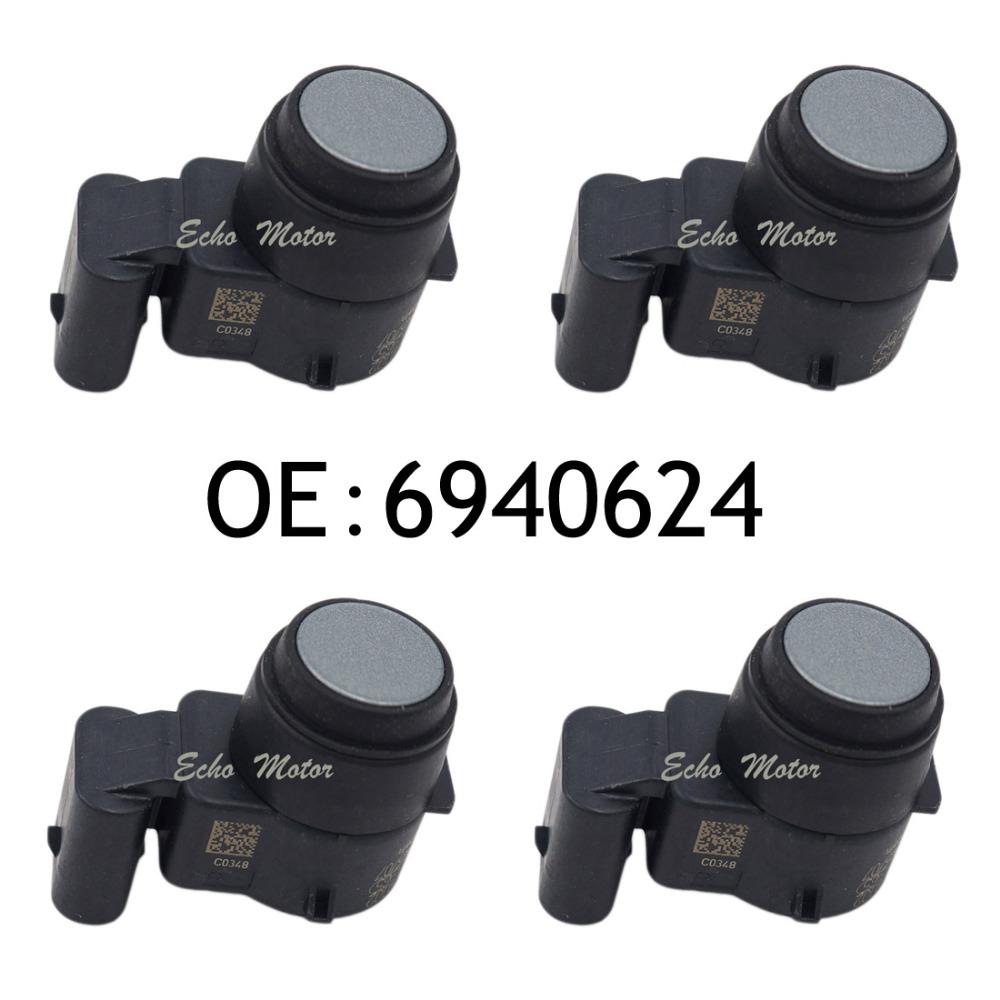 Фотография New SET(4) 6940624 For BMW 1er E81 E82 E87 3er E90 E91 E92 E89 PDC Sensor Ultraschallwandler 0263003293 Genuine