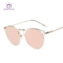 Queen College Sunglasses Women Hollow Vintage Steampunk Coating Lens Brand Designer Decorative Arrow Sun Glasses UV400 QC0460(China (Mainland))