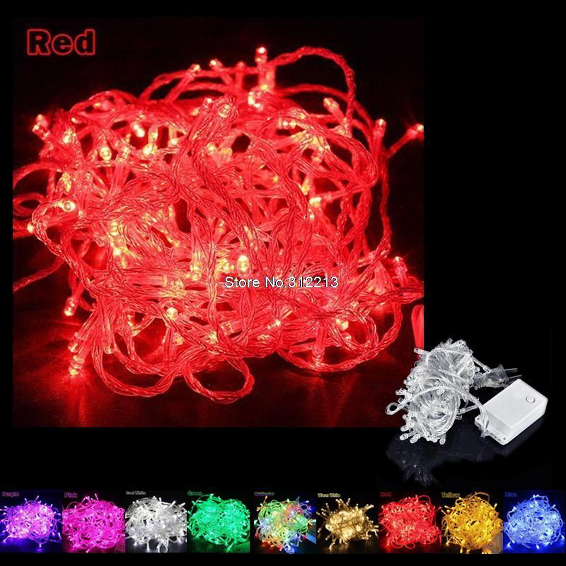 20m 9 color AC110/220V led string light 200 leds wedding partying xmas christmas tree decoration lights,led christmas light(China (Mainland))