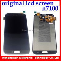 Free shipping Gray LCD Touch Screen replacement For Samsung Galaxy Note 2 N7100+lcd  Digitizer Assembly+tool Grade A+++