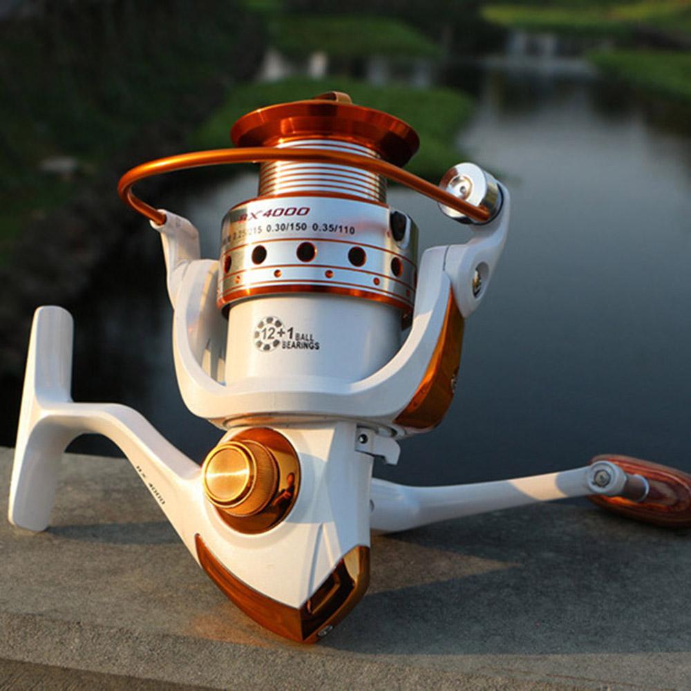 DSstyles Fishing reel BX1000 - 9000 Series 12+1BB Stainless steel Aluminum Spool Superior Ratio 5.5:1 Fishing Reel Spinning Reel(China (Mainland))