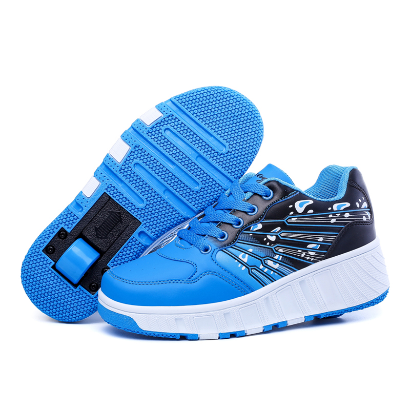 Heelys Shoes 2015 New Fashion Sneakers Children 3 Colours Roller Single wheel Ultralight 28-39  -  Mother & Baby Accessories Store store