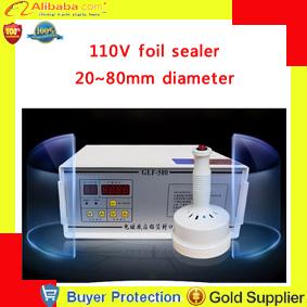 kitchen tools Induction Aluminum Foil Sealing machine Equipment Hand Held electromagnetic manual 110V AL foils Sealer 20-80mm(China (Mainland))