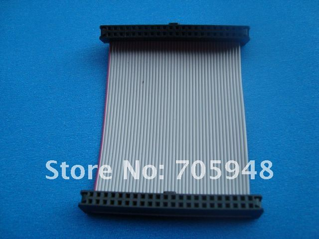 "FREE SHIPPING IDE 44Pins laptop 2.5"" Female to female F/F Hard Drive connector Ribbon Cable(China (Mainland))"