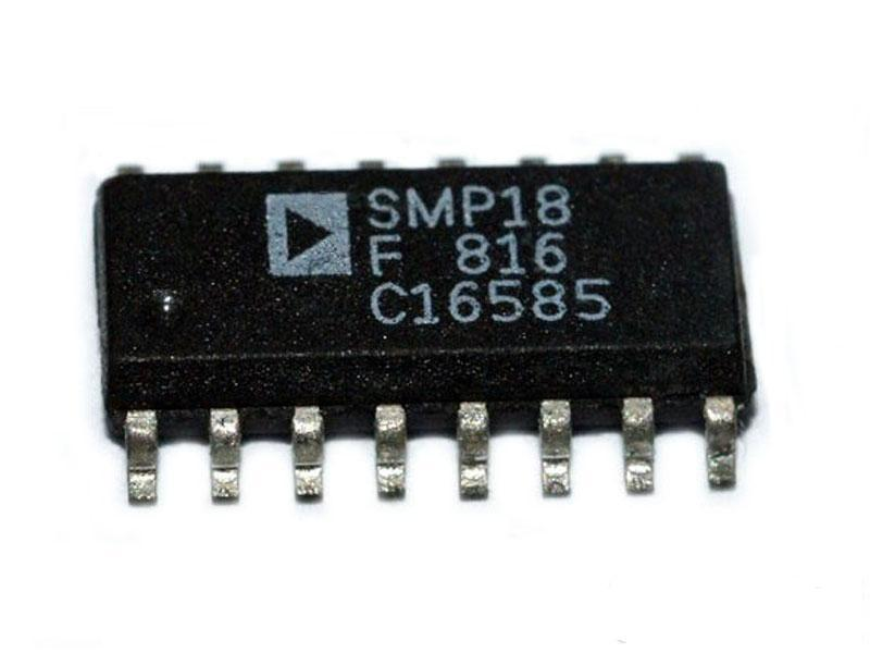 SMP18F eight sample and hold and multiplexing the input device 1PCS(China (Mainland))